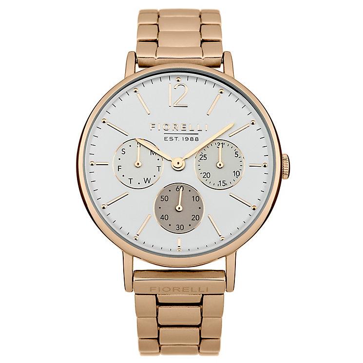 Fiorelli Ladies Rose Gold Tone Bracelet Watch - Product number 4928091