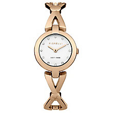 Fiorelli Ladies Rose Gold Tone Bracelet Watch - Product number 4928385