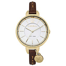 Fiorelli Ladies Tan Leather Strap Watch - Product number 4928733