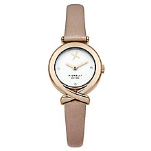 Fiorelli Ladies Nude Leather Strap Watch - Product number 4928768