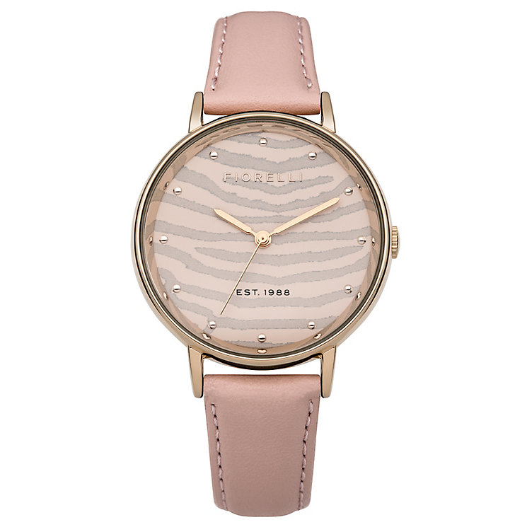 Fiorelli Ladies Nude Leather Strap Watch - Product number 4928806