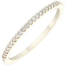 9ct Yellow Gold Diamond Ring - Product number 4929306