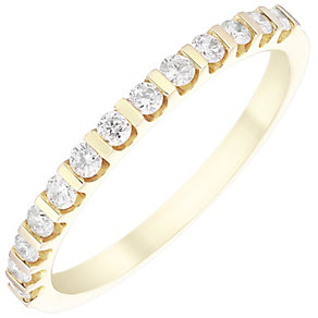 9ct Yellow Gold 0.25ct Diamond Ring - Product number 4930096