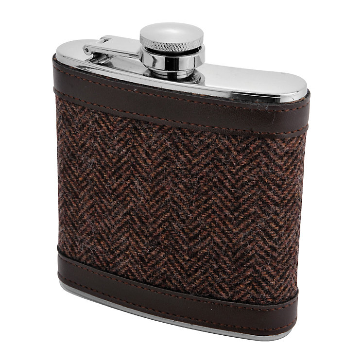 Tweed Hip Flask - Product number 4931580