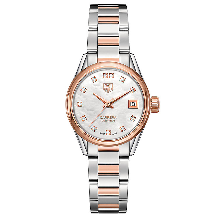 TAG Heuer Carrera Ladies' Two Colour Bracelet Watch - Product number 4933052