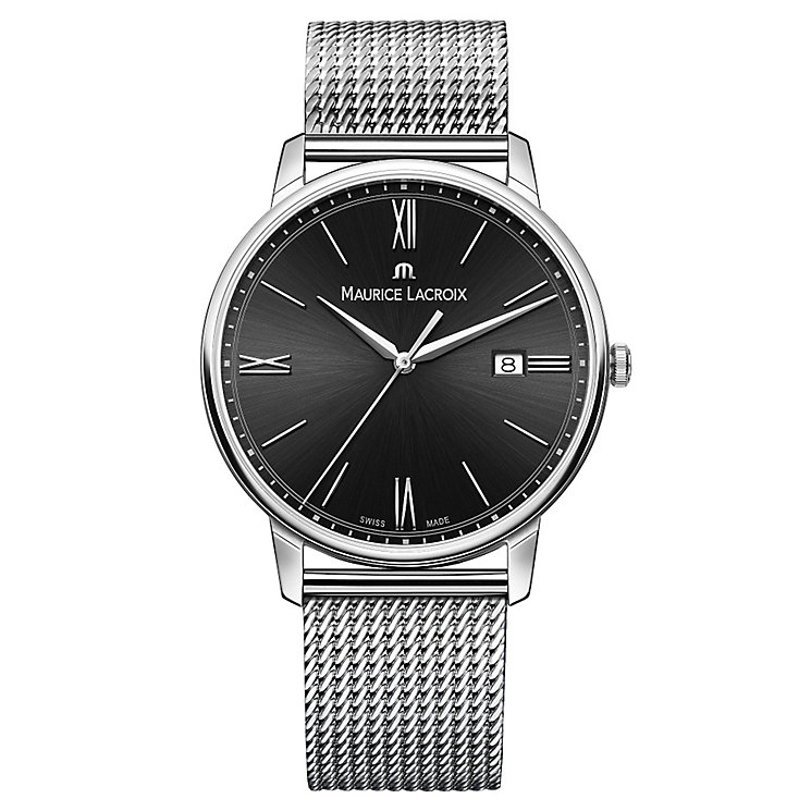 Maurice Lacroix Eliros Men's Stainless Steel Bracelet Watch - Product number 4936345