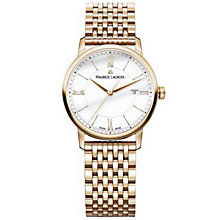 Maurice Lacriox Ladies' Rose Gold Plated Bracelet Watch - Product number 4936353