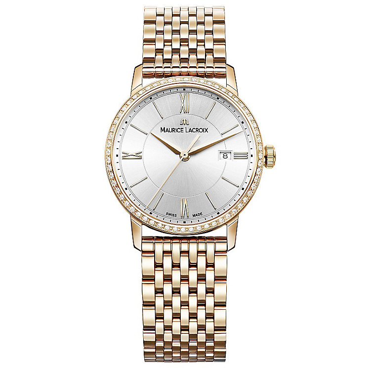 Maurice Lacroix Ladies' Rose Gold Plated Bracelet Watch - Product number 4936450