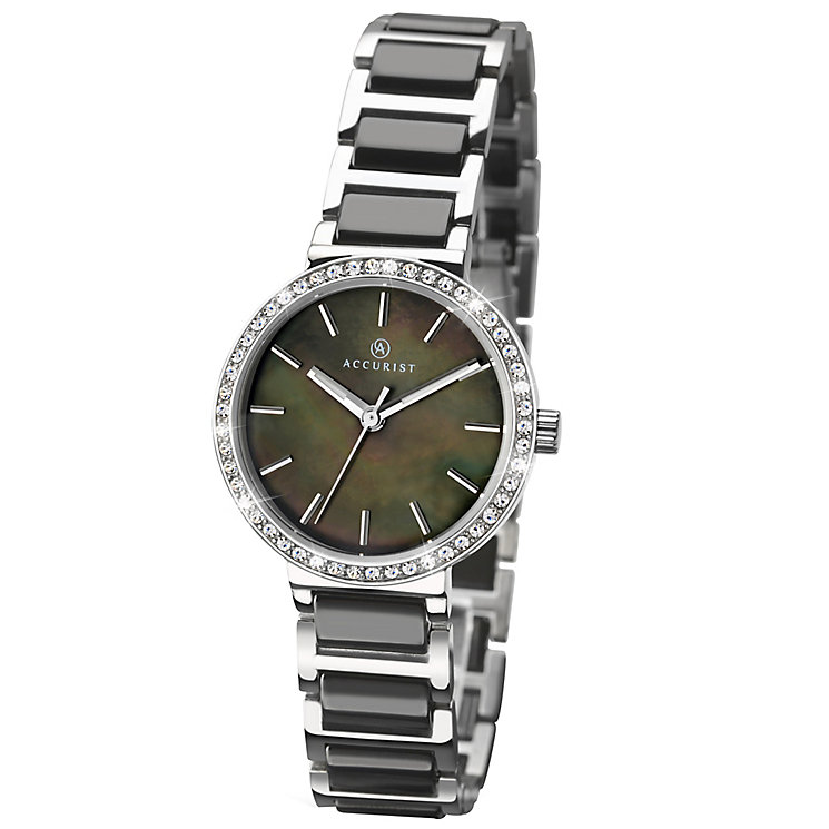 Accurist Ladies' Ceramic & Stainless Steel Bracelet Watch - Product number 4938062