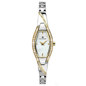 Accurist Ladies' 2 Colour Stainless Steel Bracelet Watch - Product number 4938585