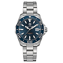 Tag Heuer Aquaracer Men's Stainless Steel Bracelet Watch - Product number 4943201