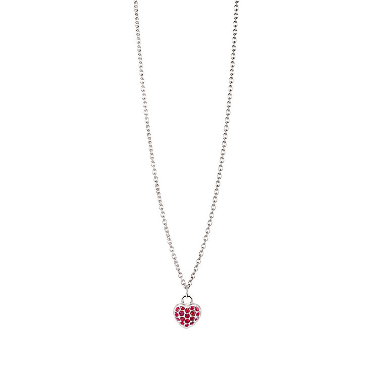 Chamilia Sterling Silver January Pave Birthstone Necklace - Product number 4943511