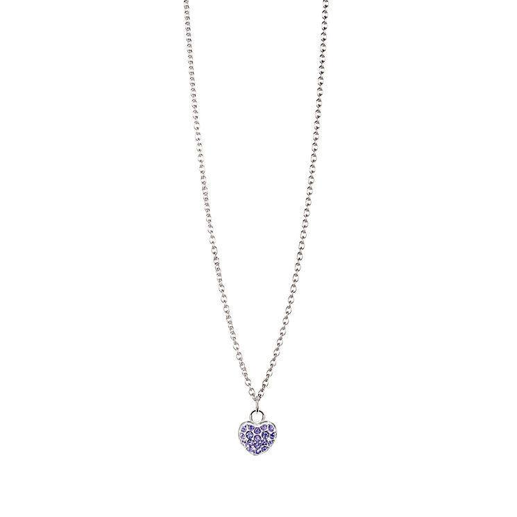Chamilia Sterling Silver June Pave Birthstone Necklace - Product number 4943570