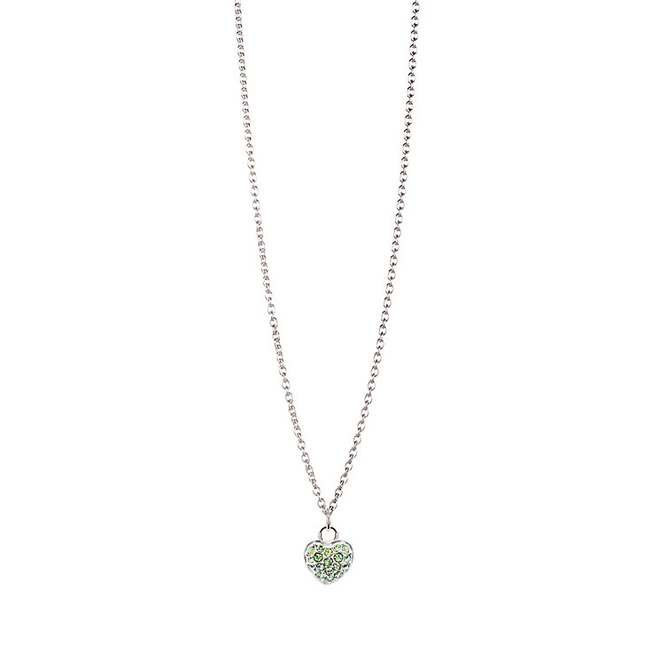 Chamilia Sterling Silver August Pave Birthstone Necklace - Product number 4943716
