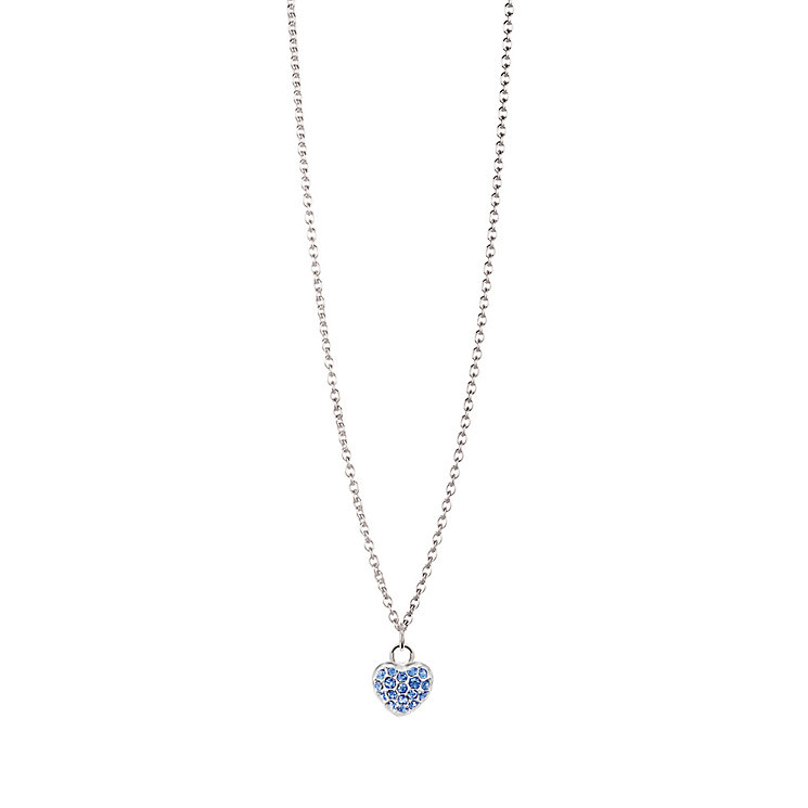 Chamilia Sterling Silver September Pave Birthstone Necklace - Product number 4943759