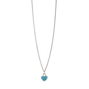Chamilia Sterling Silver December Pave Birthstone Necklace - Product number 4943848