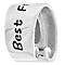 Chamilia Sterling Silver & Black Enamel Best Friends Bead - Product number 4944399