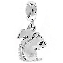 Chamilia Sterling Silver & Black Enamel Gone Nuts Charm Bead - Product number 4944488