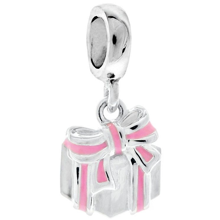 Chamilia Silver Petite Happy Birthday Gift Charm Bead - Product number 4944577