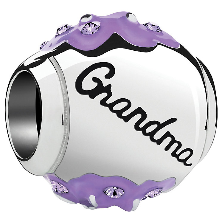 Chamilia Radiant Blooms Silver & Enamel Grandma Bead - Product number 4944607