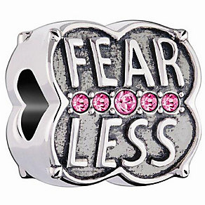 Chamilia Sterling Silver Fearless Charm Bead - Product number 4944690