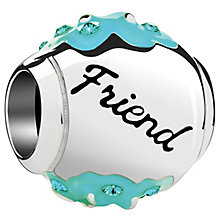 Chamilia Radiant Blooms Sterling Silver & Enamel Friend Bead - Product number 4944739
