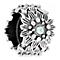 Chamilia Splendor Swarovski Straw Flower Rondelle Bead - Product number 4944895