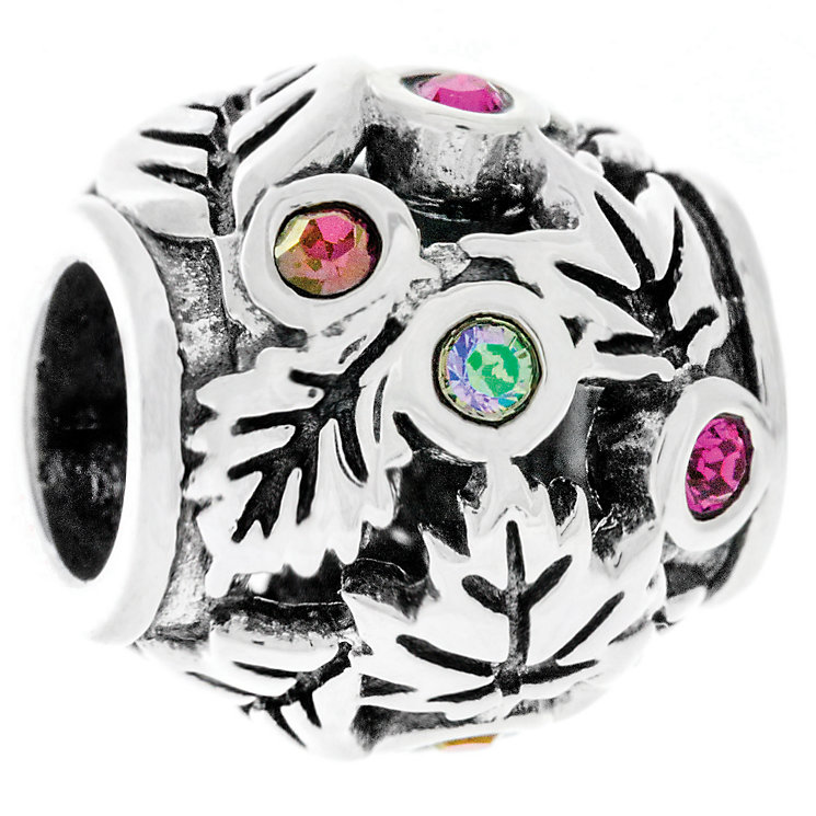 Chamilia Silver Swarovski Falling Leaves Treasure Bead - Product number 4944909