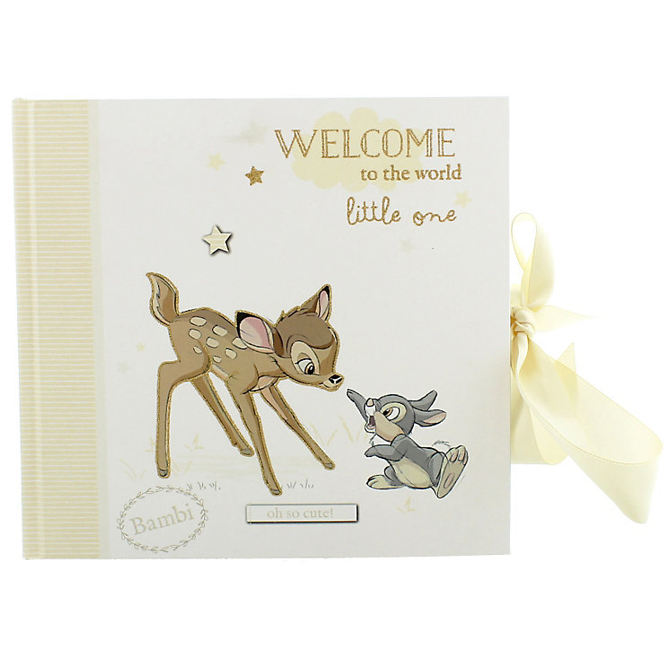 "Disney Baby Bambi Photo Album 4"" x 6"" - Product number 4951956"