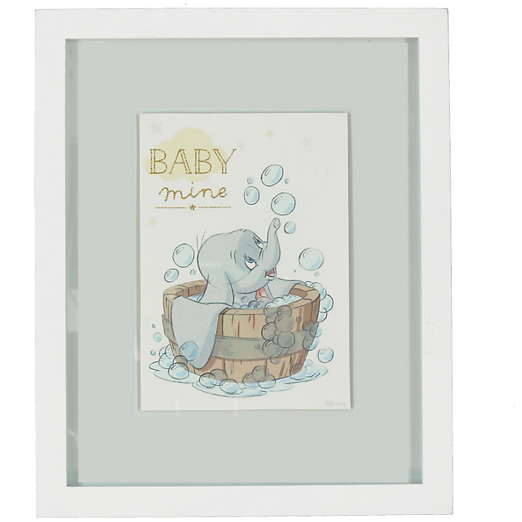 Disney Baby Dumbo 'Baby Mine' Wall Plaque - Product number 4951999