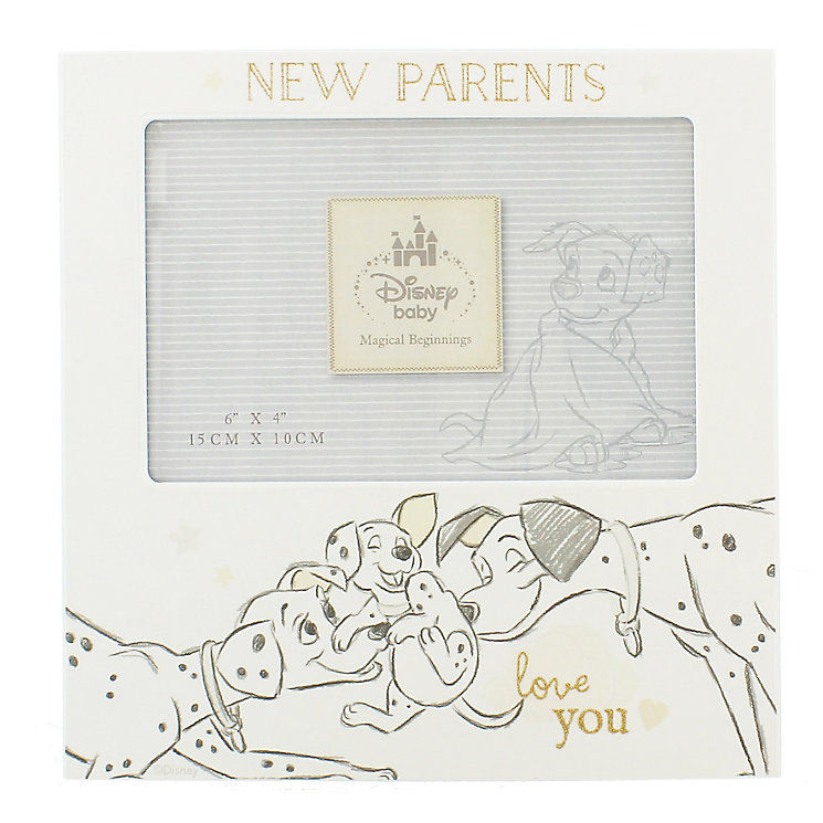 "Disney Baby New Parents 101 Dalmatians Photo Frame 6"" x 4"" - Product number 4952006"