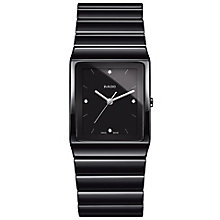 rado watches ernest jones rado men s ceramic bracelet watch product number 4953509