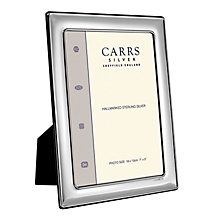 "Carrs Sterling Silver 7""x5"" Photo Frame - Product number 4955242"