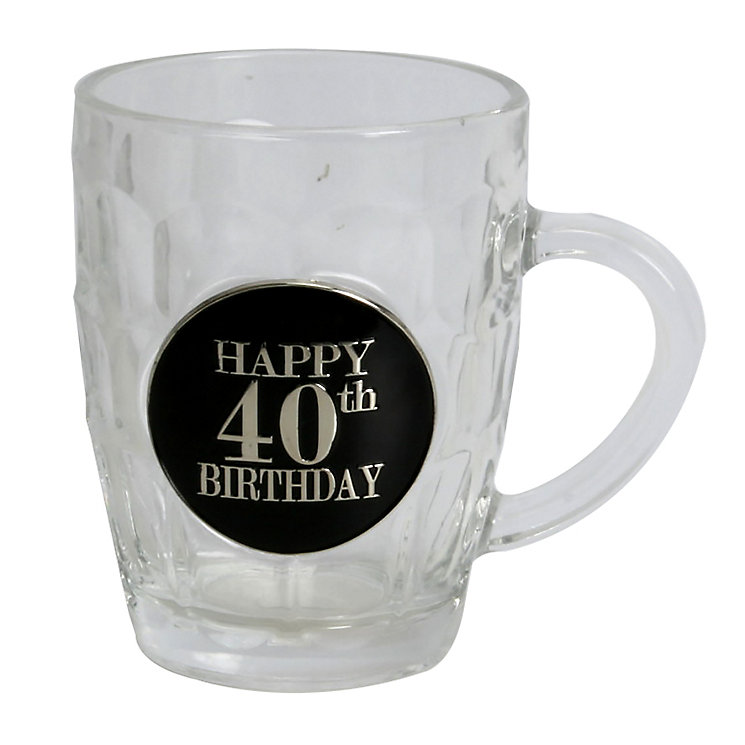 Pint Glass - 40th Birthday - Product number 4955501