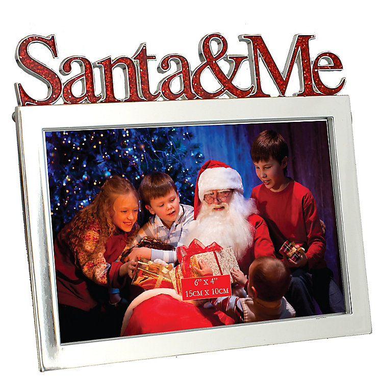 Christmas Santa & Me Frame - Product number 4955811