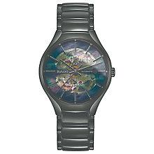 Rado Men's Black Ceramic Skeleton Bracelet Watch - Product number 4956907