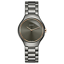 Rado Ladies' Platinum Bracelet Watch - Product number 4957032