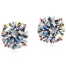 Carat 9ct Rose Gold Stone Set Studs - Product number 4958896