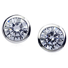Carat 9ct White Gold Earrings - Product number 4959264