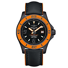 Breitling SuperOcean 44 Men's Ion Plated Strap Watch - Product number 4959280