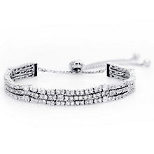 Carat Alexis Silver Three Row Bracelet - Product number 4959558