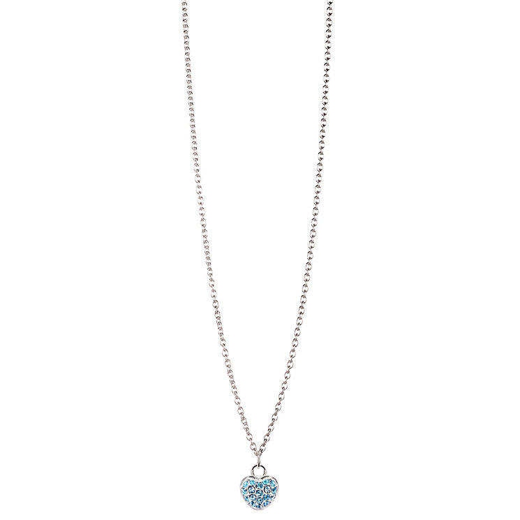 Chamilia Sterling Silver Petite Pave March Heart Necklace - Product number 4960467