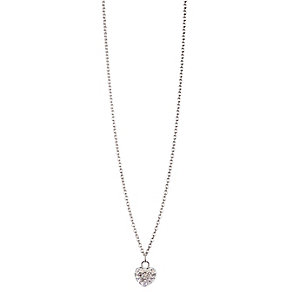 Chamilia Sterling Silver Petite Pave April Heart Necklace - Product number 4960475