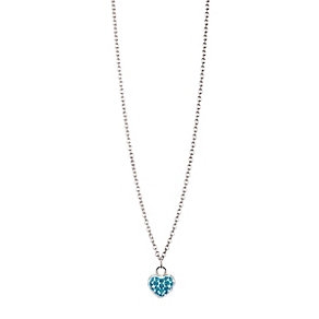 Chamilia Sterling Silver Petite Pave December Heart Necklace - Product number 4960564