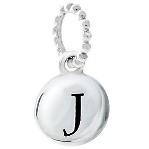 Chamilia Sterling Silver Alphabet Disc Charm J - Product number 4960661
