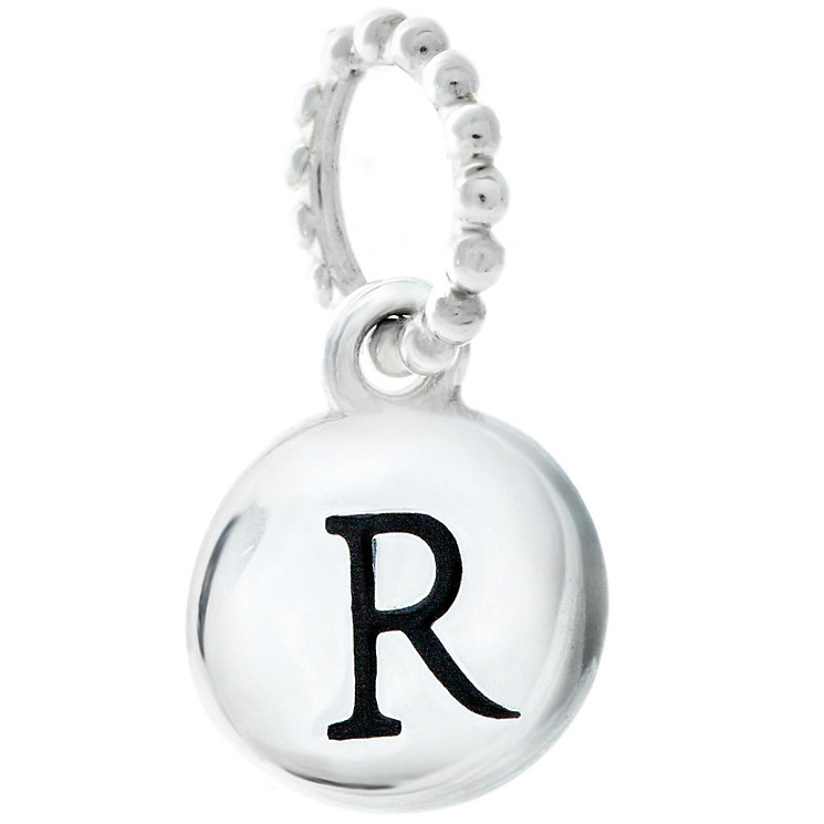 Chamilia Sterling Silver Alphabet Disc Charm R - Product number 4960769