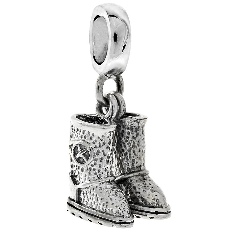 Chamilia Sterling Silver Cozy Soles Charm - Product number 4960882