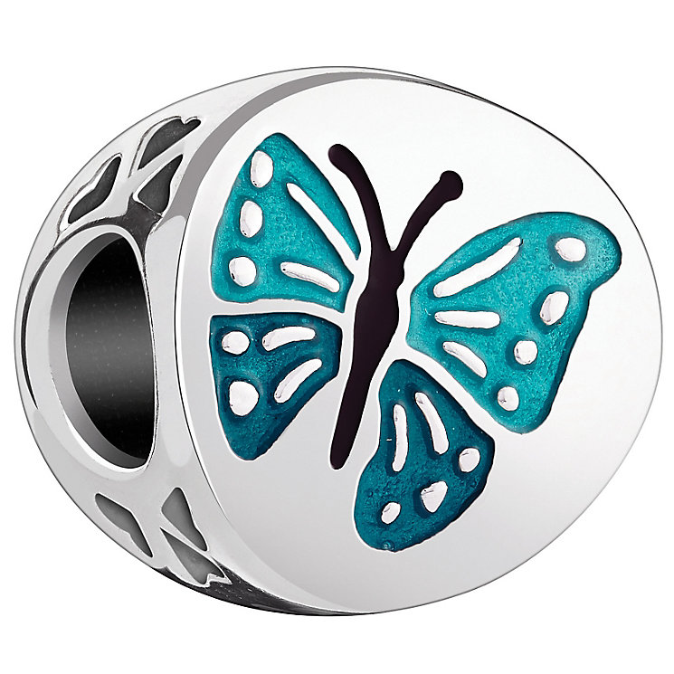 Chamilia Sterling Silver Teal Enamel One in a Million Bead - Product number 4960947