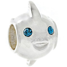Chamilia Sterling Silver Swarovski Crystal Pucker Fish Bead - Product number 4961048