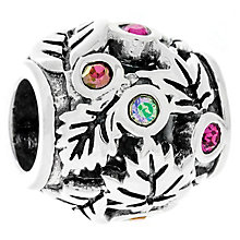 Chamilia Sterling Silver Falling Leaves Treasure Bead - Product number 4961307
